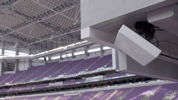 Verizon Wireless has beefed up its cellular capabilities at U.S. Bank Stadium. It has upped its antenna count from 900 to 1,200. (Verizon Wireless)