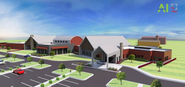 Cambia Hills, a unit of The Hills Youth and Family Services in Duluth, wants to purchase Shadow Creek Stables in Forest Lake and build an $18 million psychiatric residential treatment facility. (Courtesy of TKDA Engineering and Architectural Investments)