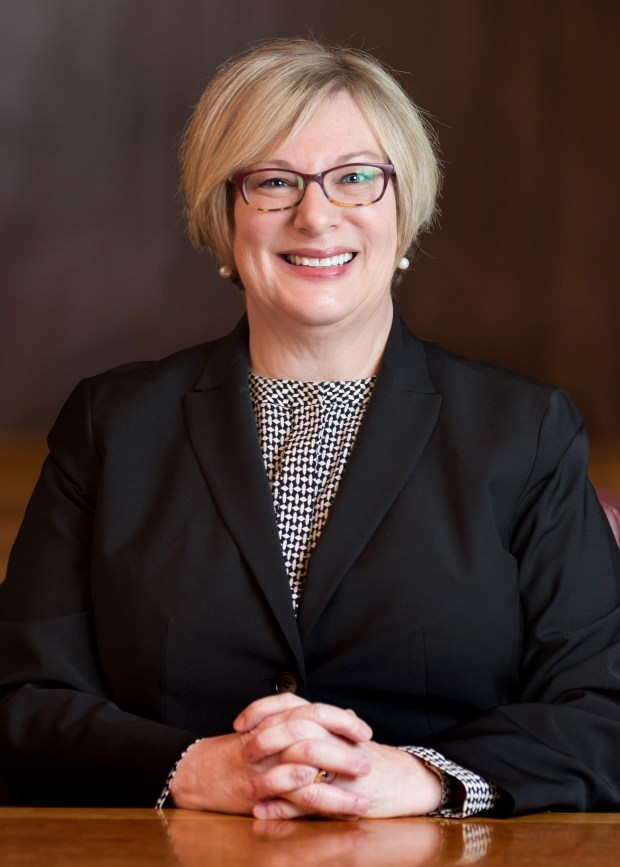 Undated courtesy photo, circa Feb. 2018, of Julie Kleinschmidt. Kleinschmidt, the first woman to become Ramsey County manager, will retire in June 2018 after a decade in the role. She was previously the county's finance director. (Courtesy of Ramsey County)