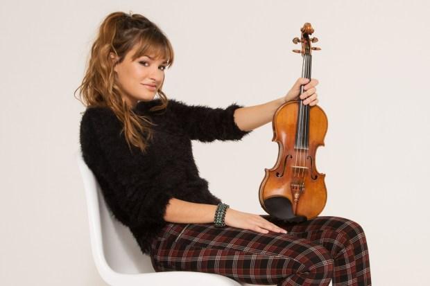 Scottish violinist Nicola Benedetti, featured artist for the 2018-19 Schubert Club International Artist Series. (Courtesy of Simon Fowler)