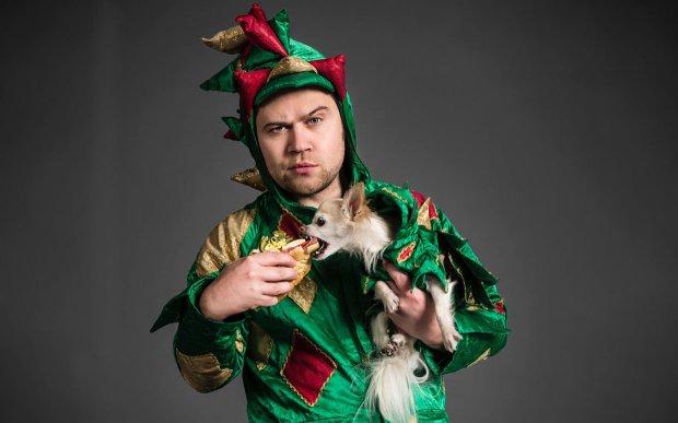 Paul Zerdin and Piff the Magic Dragon