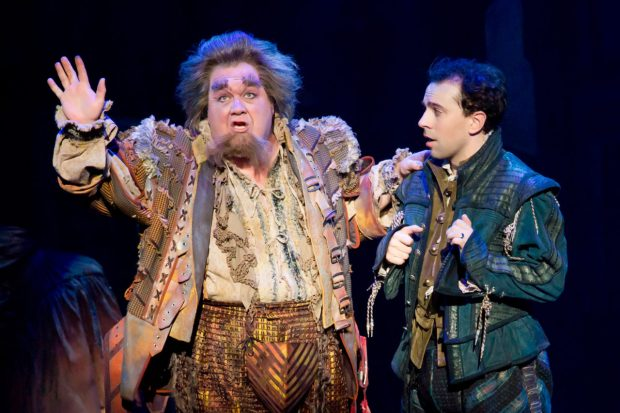 "A scene from ""Something Rotten,"" playing at the Orpheum Theatre"