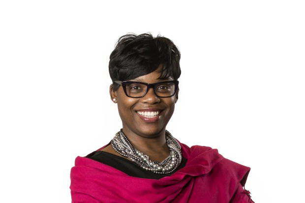 EMBARGOED UNTIL 12:01 am on Tuesday, March 20, 2018 -- Undated courtesy photo, circa March 2018, of Shawntera M. Hardy, of St. Paul, who was named as one of the 2018 Bush Fellows, a group of 24 extraordinary and diverse leaders in Minnesota, North Dakota, South Dakota and the 23 Native nations that share the same geography. She said she hopes to continue her education in order to help people of color share in the state's prosperity and be governed by equitable policies. (Courtesy of the Bush Foundation)