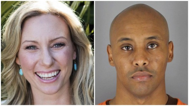 Justine Damond, left, and Mohamed Noor, right. (Stephen Govel/www.stephengovel.com; Hennepin County Sheriff's Office via AP)