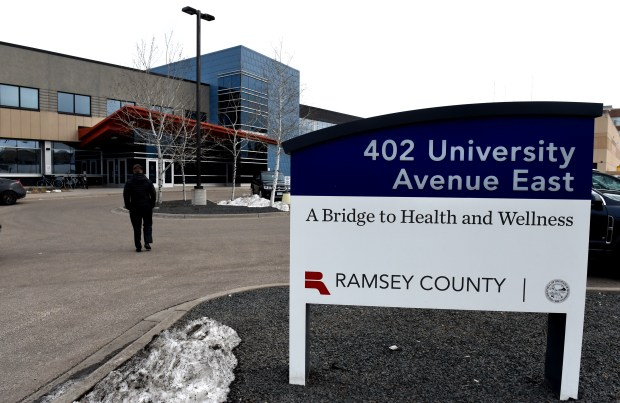 The Ramsey County Urgent Care for Adult Mental Health Center on 402 East University Avenue in St. Paul on Wednesday, April 11, 2018. A proposal moving quietly through the Legislature would take a step toward closing gaps in mental health facilities. (Jean Pieri / Pioneer Press)