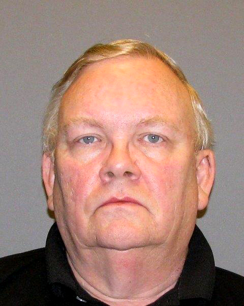 Oct. 13, 2014 courtesy photo of Barry Ron Skog, 67, who was charged April 2018 in U.S. District Court in Minneapolis with five counts of sale of counterfeit coins and one count of mail fraud. The mug is from 10/13/2014 when he was booked in Dakota County jail on suspicion of violating a restraining order.