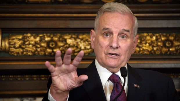 Dayton heading home from Mayo, defends handling of monthlong hospitalization