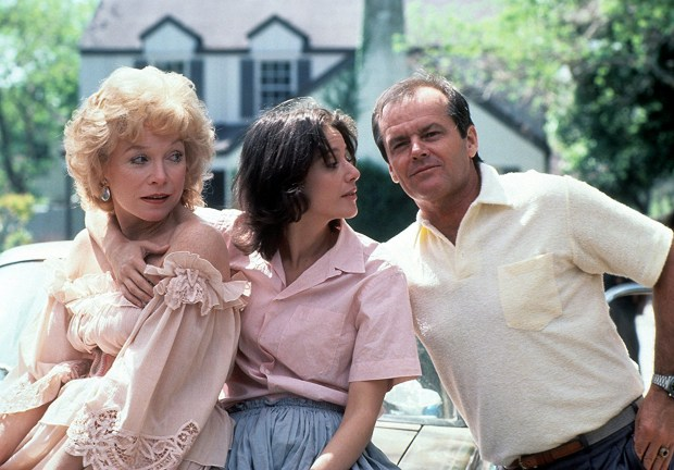 "Shirley MacLaine, from left, Debra Winger and Jack Nicholson in ""Terms of Endearment."" (Getty Images)"