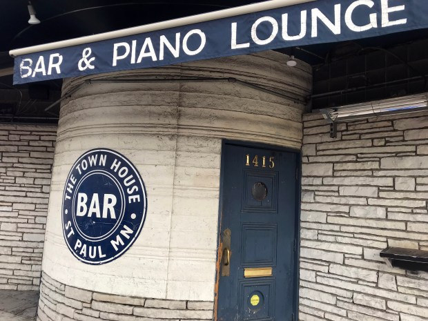 """May 14, 2018 photo of St. Paul's Town House Bar, at 1415 University Ave W. near the future Major League Soccer stadium, which is poised to become the Black Hart of St. Paul. Wes Burdine, who chronicles the exploits of the Minnesota United FC on the podcast FiftyFive.One, is buying the Town House Bar and plans to rebrand it the """"Black Hart of St. Paul."""" (Jaime DeLage / Pioneer Press)"""