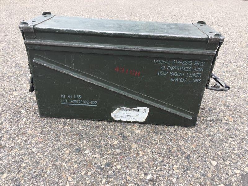 Base officials offering reward for location of missing explosives