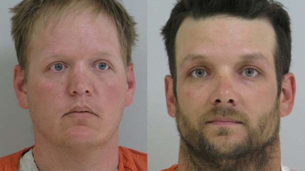 Jacob Larson, left, and Troy Traut