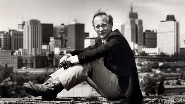 Former St. Paul Pioneer Press columnist Nick Coleman is shown in a circa 1987 photo in St. Paul. (Pioneer Press File)