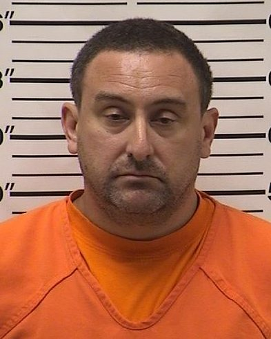 Randy Schamberger, 42, of Cumberland, Wis., was arrested Wednesday, May 23, 2018, after police say he installed a spy camera in a tanning salon. (Courtesy Barron County sheriff's office)