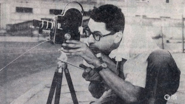 Al Milgrom says the camera is a storytelling instrument -- a pen. (Photo courtesy MN Original)