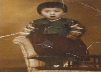 Hyon Kim at age 3. (Photo courtesy of Hyon Kim)