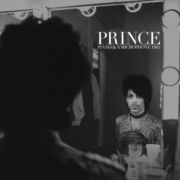 """The cover art for Prince's """"Piano and a Microphone 1983,"""" a previously unreleased collection of demos Prince recorded alone at the piano. (Courtesy of the Prince Estate/Allen Beaulieu)"""