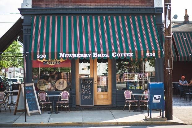 Prohibition Bourbon Bar at Newberry Bros. Coffee. (meetNKY: Northern Kentucky CVB/TNS)