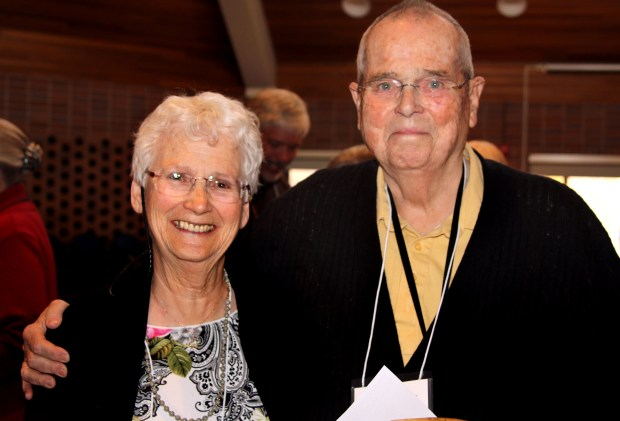 Undated courtesy photo, circa June 2018, of Marv Spears and his wife Jeannie. (Courtesy of Giving Voice Chorus)