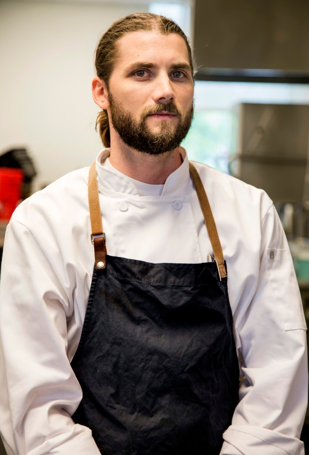 Blake Meier, chef of Fika Cafe at the American Swedish Institute