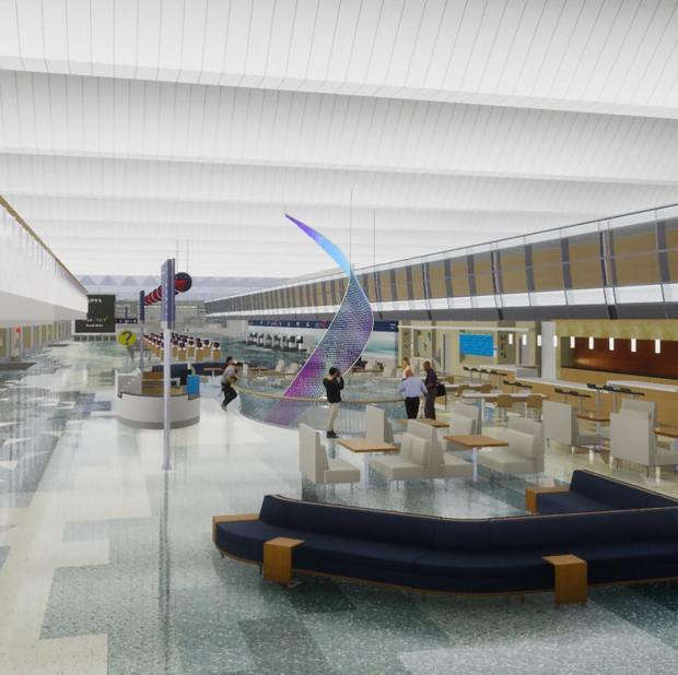 MSP airport to get interactive colorful art display in main
