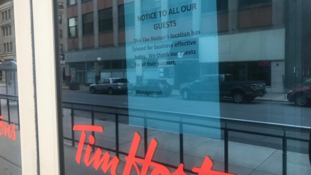 Tim Horton's appears to have closed Twin Cities locations