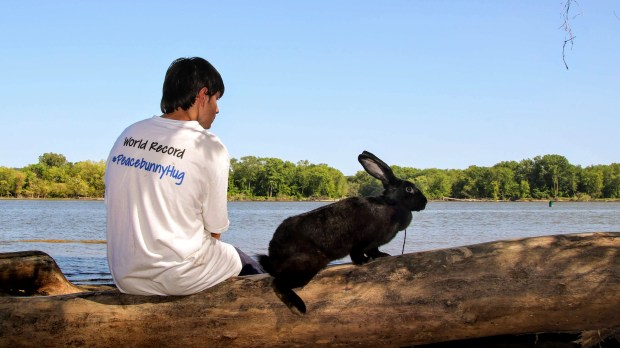 Teen makes biz bringing bunnies and people together on
