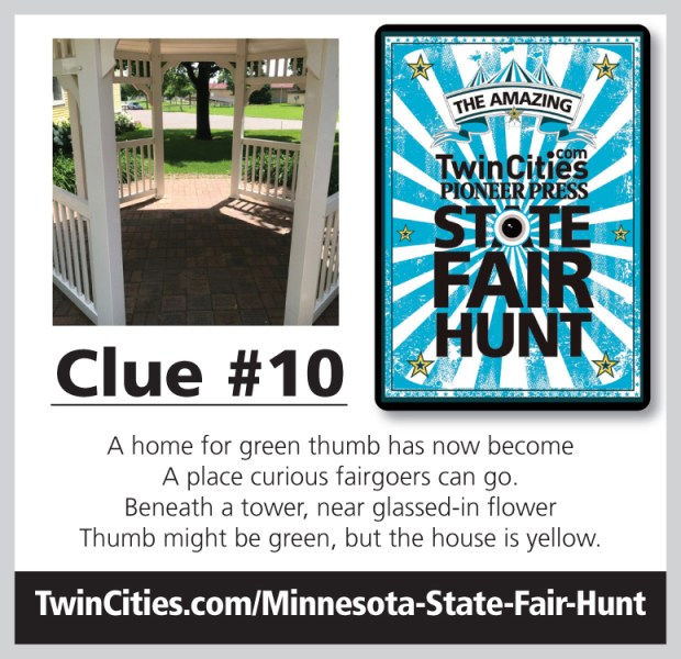 2019 Minnesota State Fair Treasure Hunt: Day 10 Clue – Twin