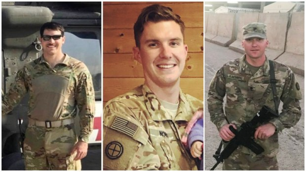 Minnesota National Guard soldiers killed in helicopter crash
