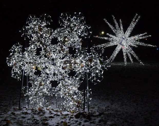 Glow Holiday Festival drive through display brings dazzle to