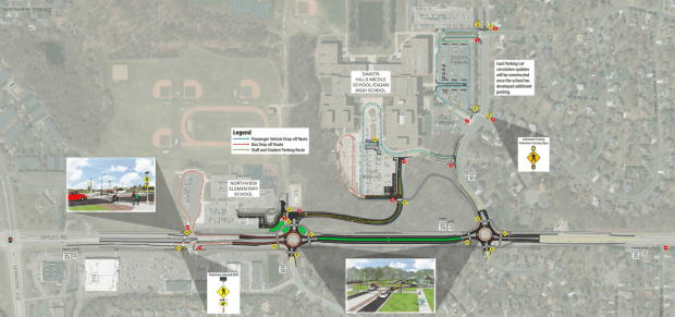 Eagan proposes Diffley Road safety changes; student on bike dies after being hit by car in 2019