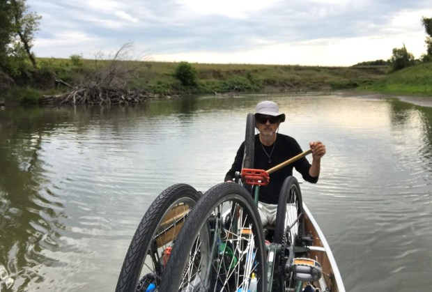 By pedal and pedal, duet covers perimeter of Minnesota