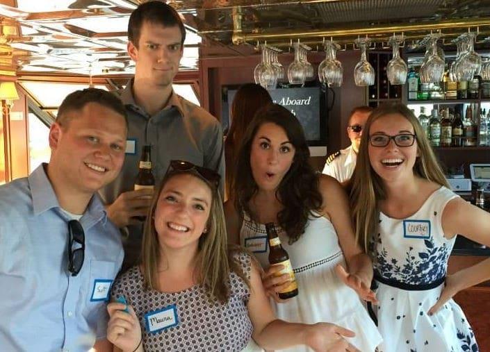 Employees Enjoying their Boat Cruise Outing | Paradise Character Cruises - Minneapolis, MN