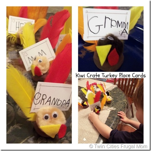 The Turkey Place Cards