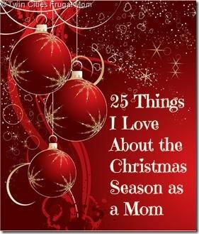 Christmas season as a mom