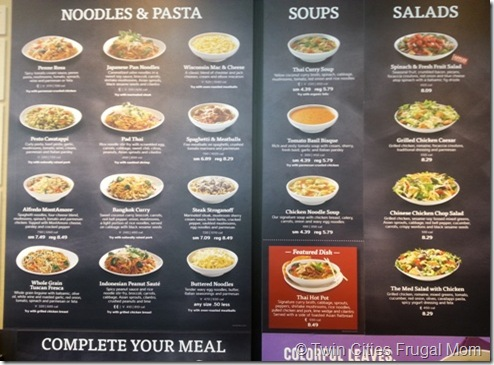 photo regarding Noodles and Company Printable Menu referred to as Noodles Business Giveaway - Dual Towns Frugal Mother