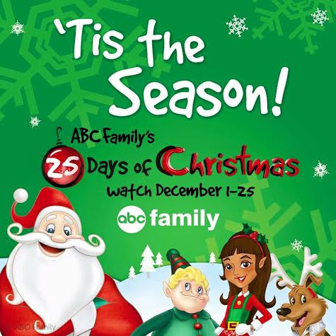 Abc Family S 25 Days Of Christmas On Dvd And Tv Schedule