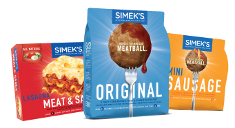 Simek's packaging