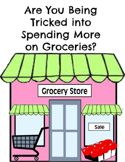 tricked into spending more on groceries