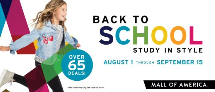 photo about Mall America Printable Coupons called Totally free Back again in the direction of Faculty Printable Discount codes for the Shopping mall of