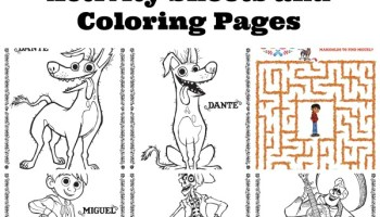 Free Printable MOANA Coloring Pages & Activity Sheets (Part 2 ...
