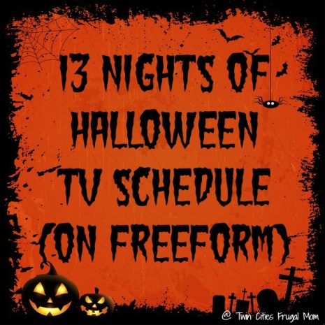 13 Nights of Halloween TV Schedule (on Freeform) - Twin Cities ...