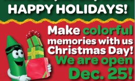 Discount Tickets for Crayola Experience – Open on Christmas (and Perfect for Winter Break)