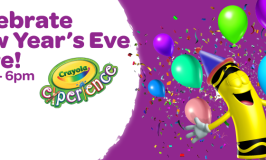 Discount Tickets for New Year's Eve Celebration at Crayola Experience Mall of America