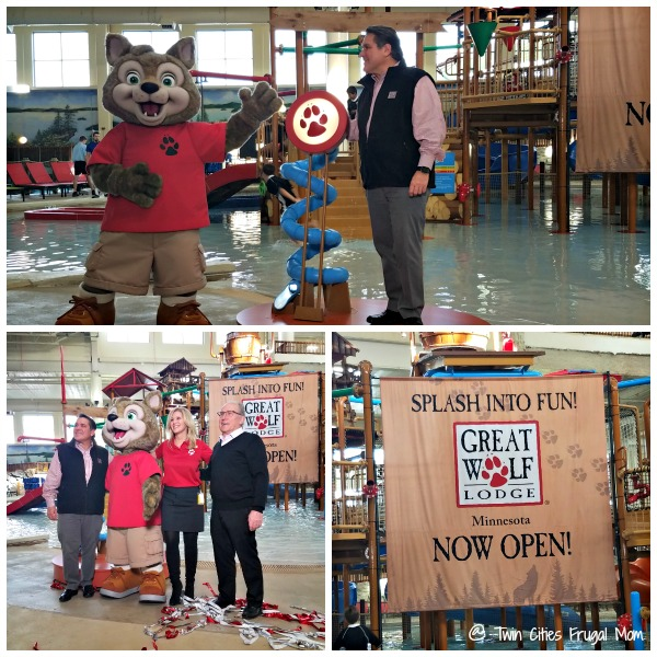 Great Wolf Lodge Grand Opening Event