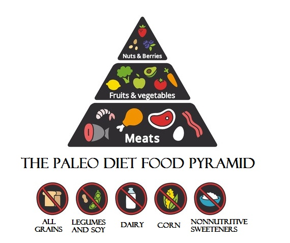 Paleo Diet Food Pyramid