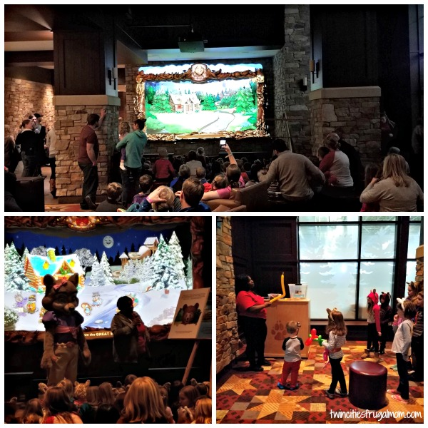 Great Wolf Lodge Bloomington Story time