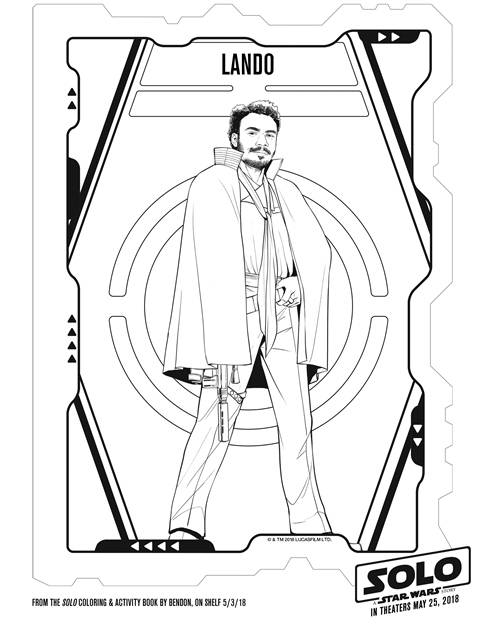 Free SOLO: A STAR WARS STORY Printable Coloring Pages & Activity ...