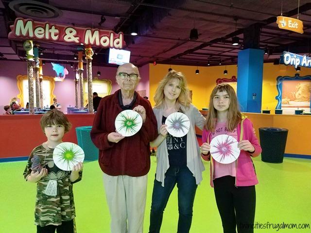 Crayola Experience Mall of America Drip Art