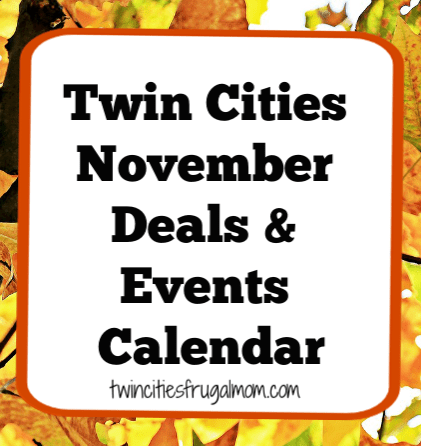 Twin Cities November Calendar