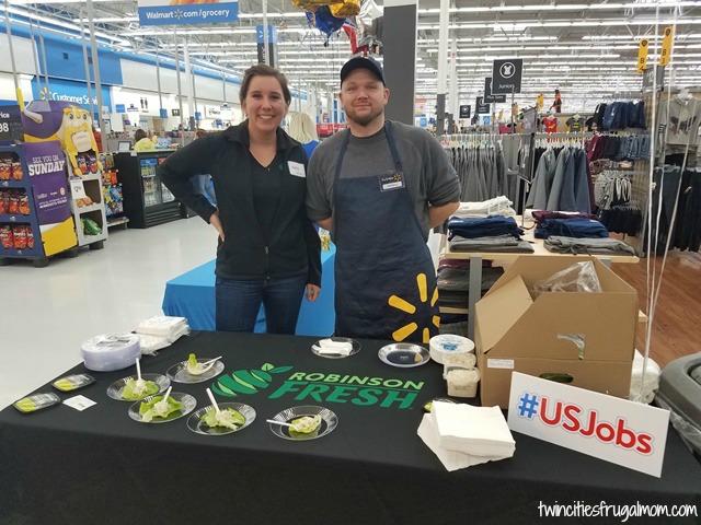 Walmart Robinson Fresh Samples